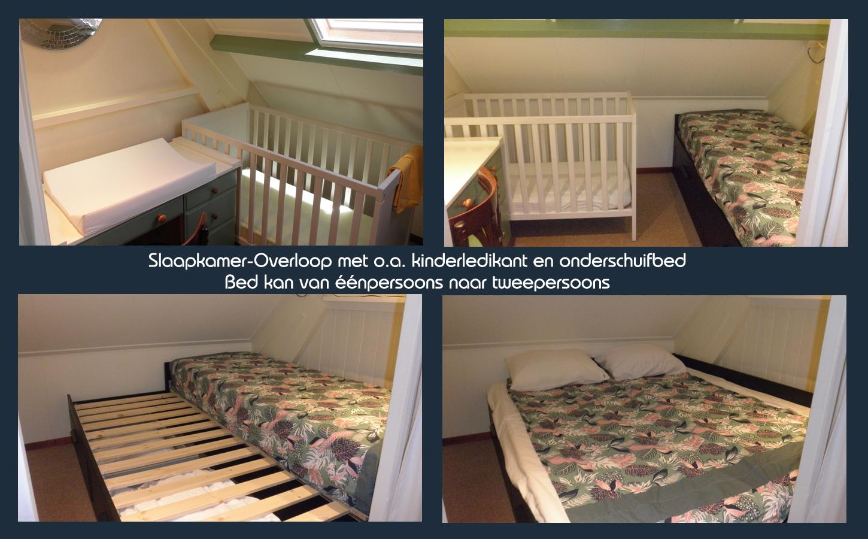 Slaapkamer-overloop